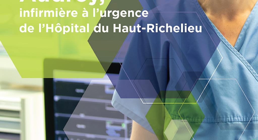 <p>Série de vignettes Facebook, publicités journaux pour recrutement personnel hospitalier</p>