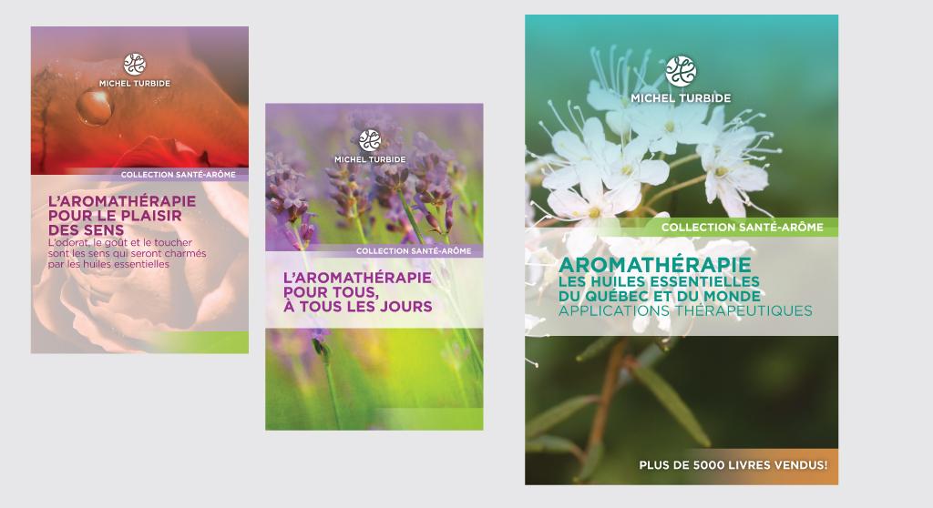 Couvertures livres Michel Turbide