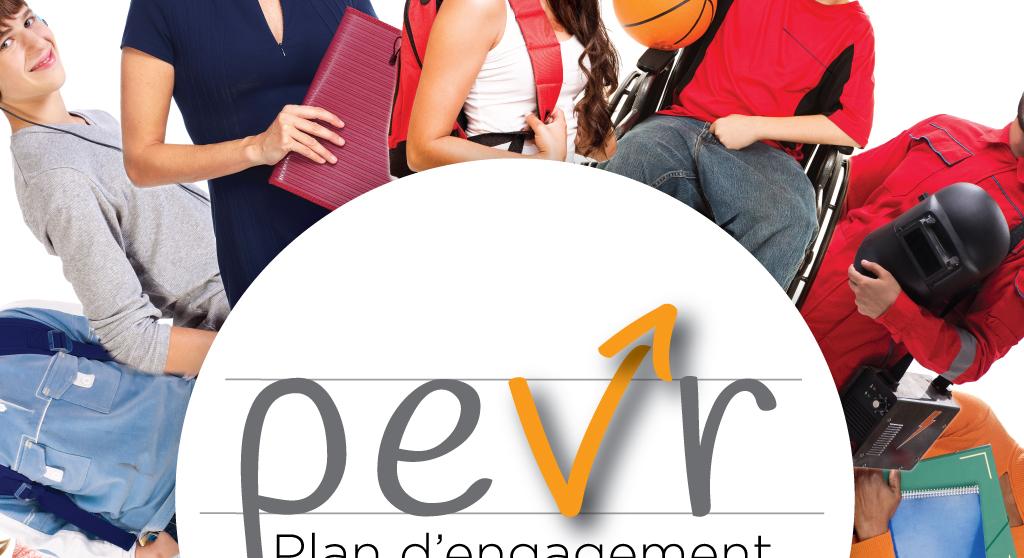 <p>Développement de la signature du PEVR, programme d&rsquo;engagement vers la réussite, 2019-2022, de la Commission scolaire des Hautes-Rivières</p>