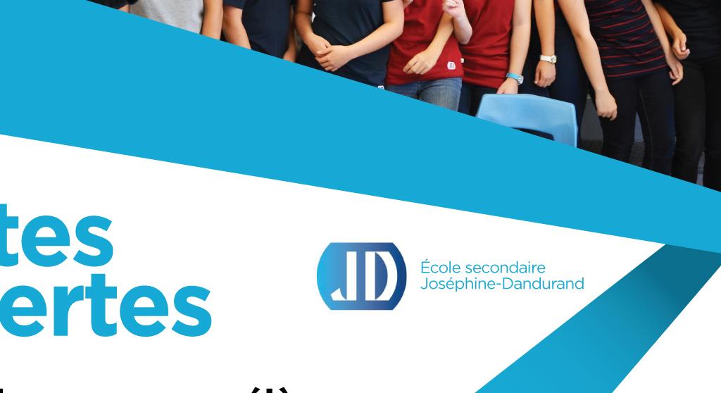 <p>Conception grille pour la Commission scolaire des Hautes-Rivières, annonces portes ouvertes 2018</p>